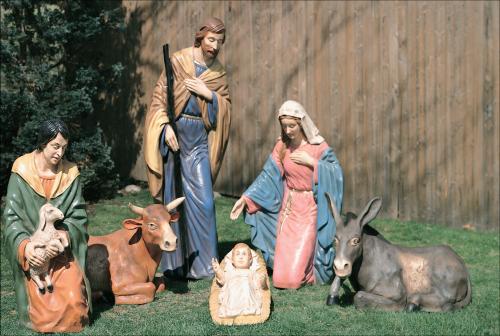 6 Piece Nativity Set World Class Christmas